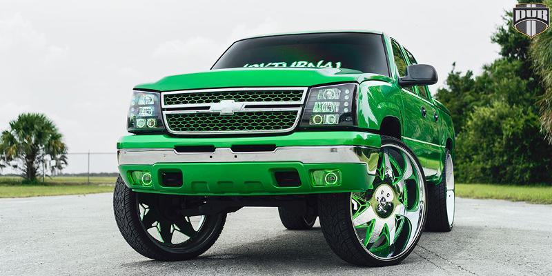 Chevrolet Silverado 1500 DUB X-69