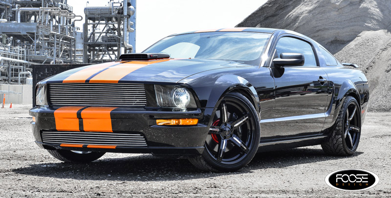 Ford Mustang GT Enforcer - F154 Gallery - MHT Wheels Inc.