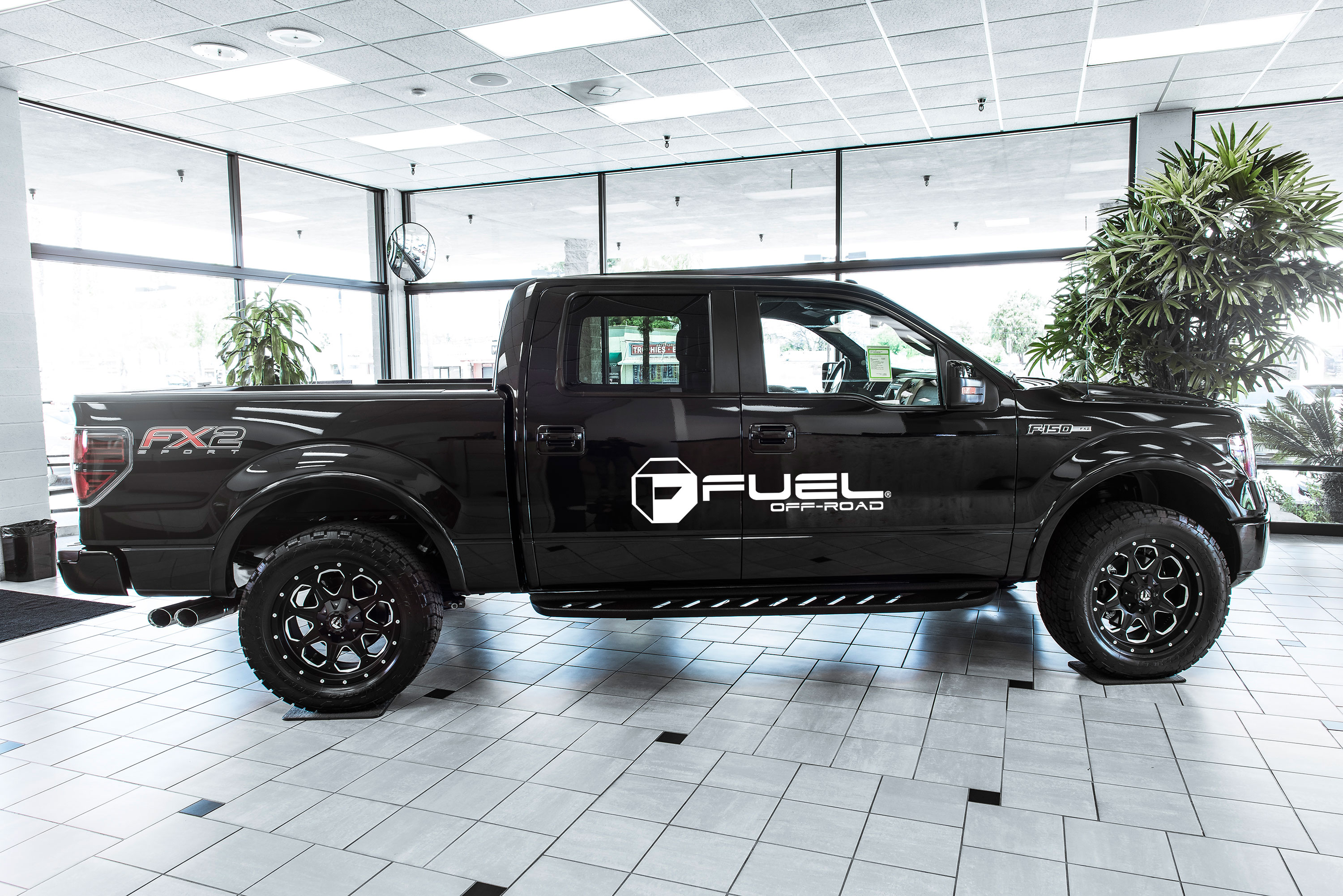 Ford F-150 Boost - D534 Gallery - MHT Wheels Inc.