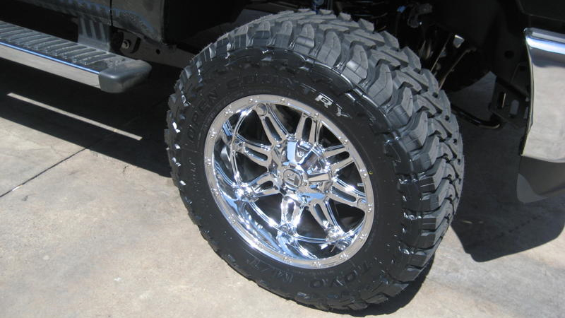 Ford F-250 Super Duty Hostage - D530 Gallery - MHT Wheels Inc.
