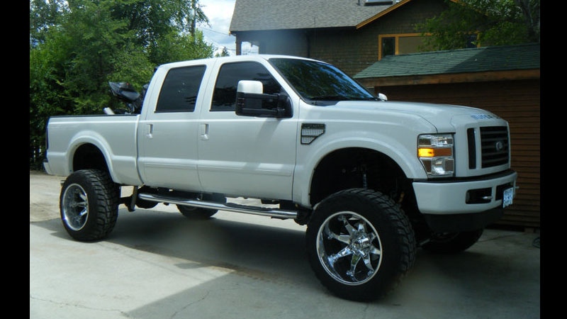 Ford F-350 Octane - D508 Gallery - MHT Wheels Inc.