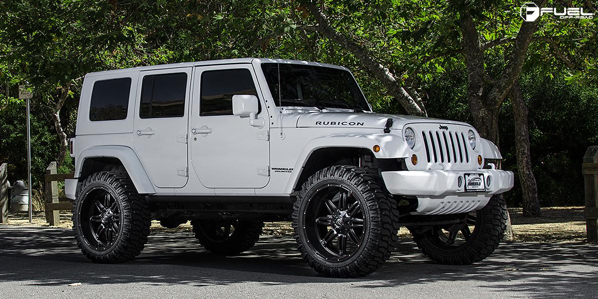Jeep Rubicon Hostage D531 Gallery Mht Wheels Inc