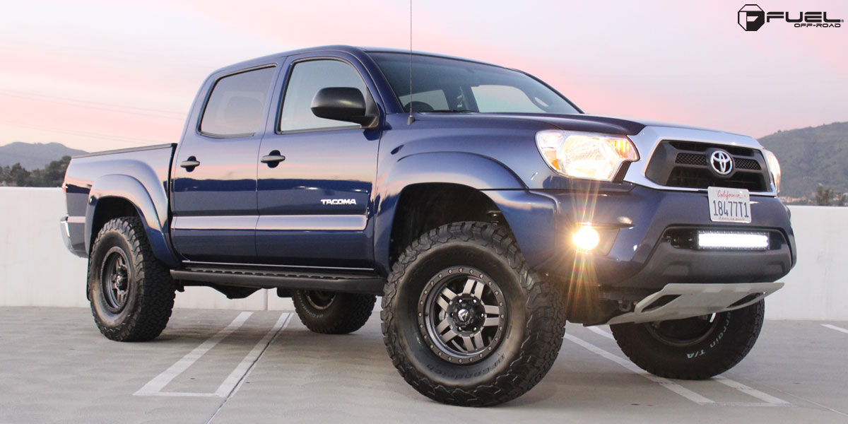 Toyota Tacoma Anza D558 Gallery Mht Wheels Inc