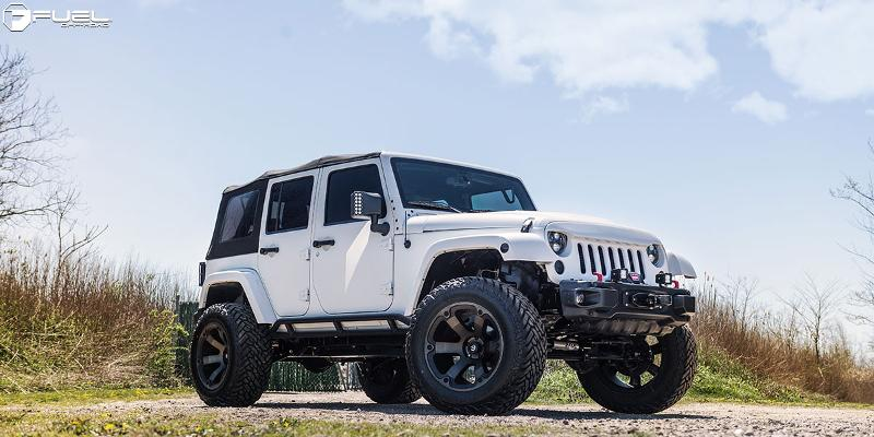Jeep Wrangler Fuel Beast - D564