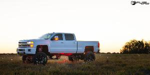 Cleaver - D239 on Chevrolet Silverado 2500 HD
