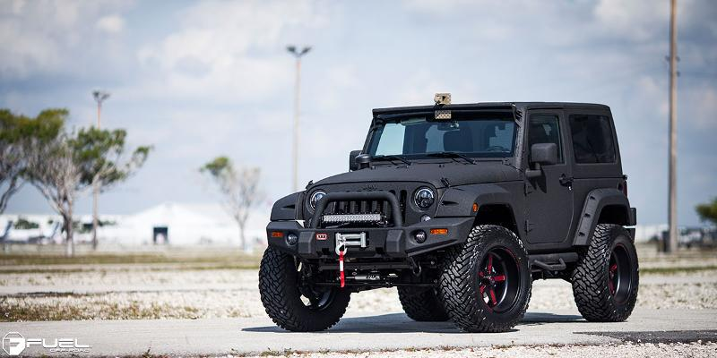Jeep Wrangler Fuel FF20