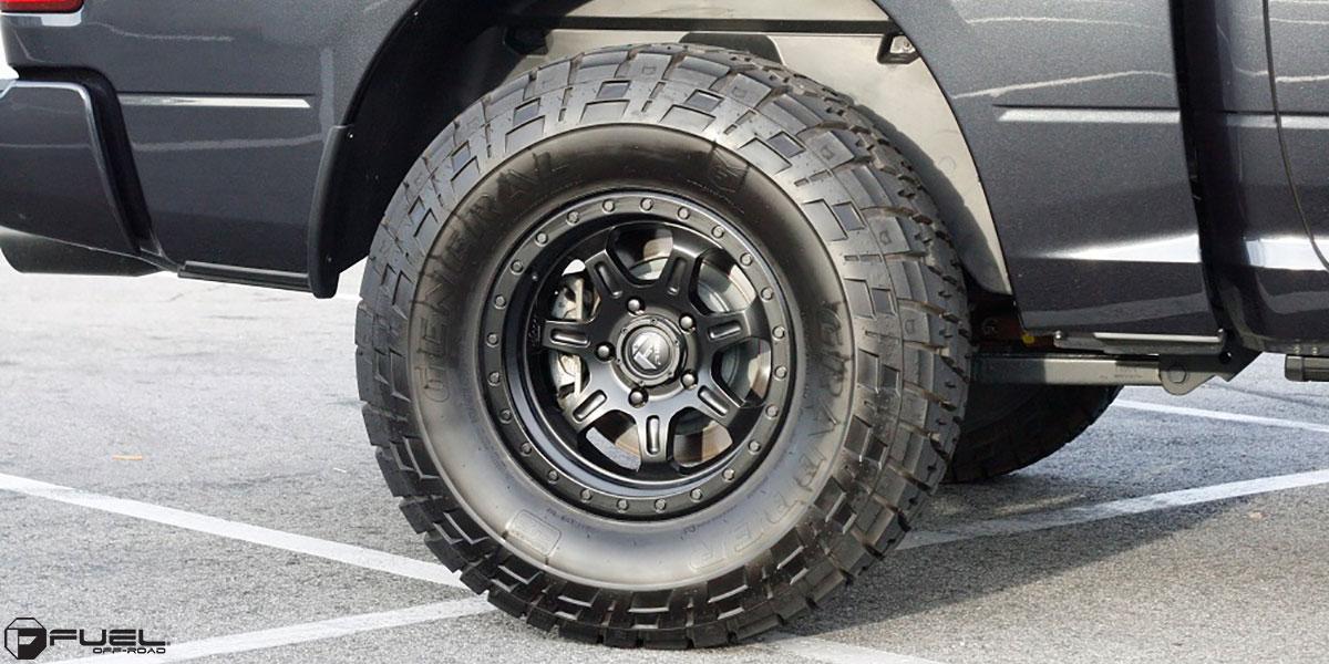 Dodge Ram 1500 JM2 - D572 Gallery - MHT Wheels Inc.