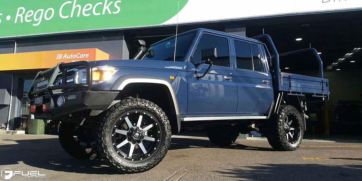 Toyota Land Cruiser Maverick - D537 Gallery - MHT Wheels Inc.