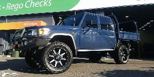 Maverick - D537 on Toyota Land Cruiser