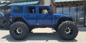 Maverick - D537 on Jeep Wrangler