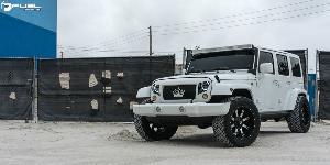 Nutz - D541 on Jeep Wrangler
