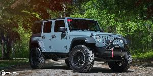 Trophy - D551 on Jeep Wrangler