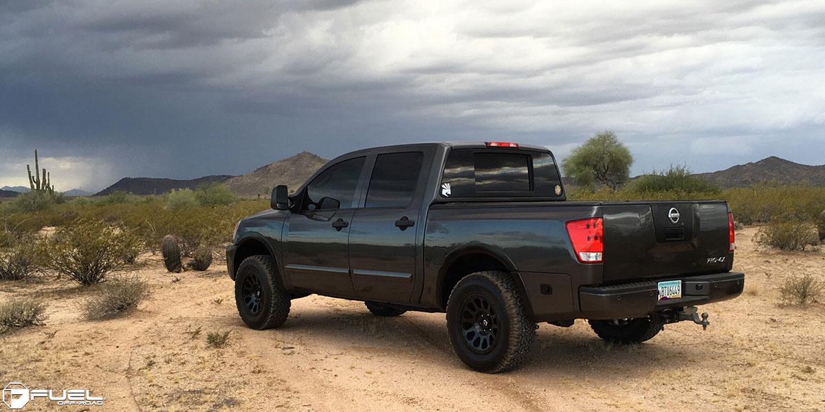 Nissan Frontier Pro 4X >> Nissan Titan Vector - D579 Gallery - MHT Wheels Inc.