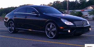 X-61 on Mercedes-Benz CLS550