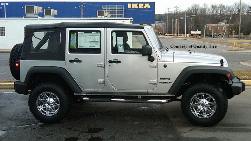 Jeep Wrangler Hostage D530 Gallery Mht Wheels Inc
