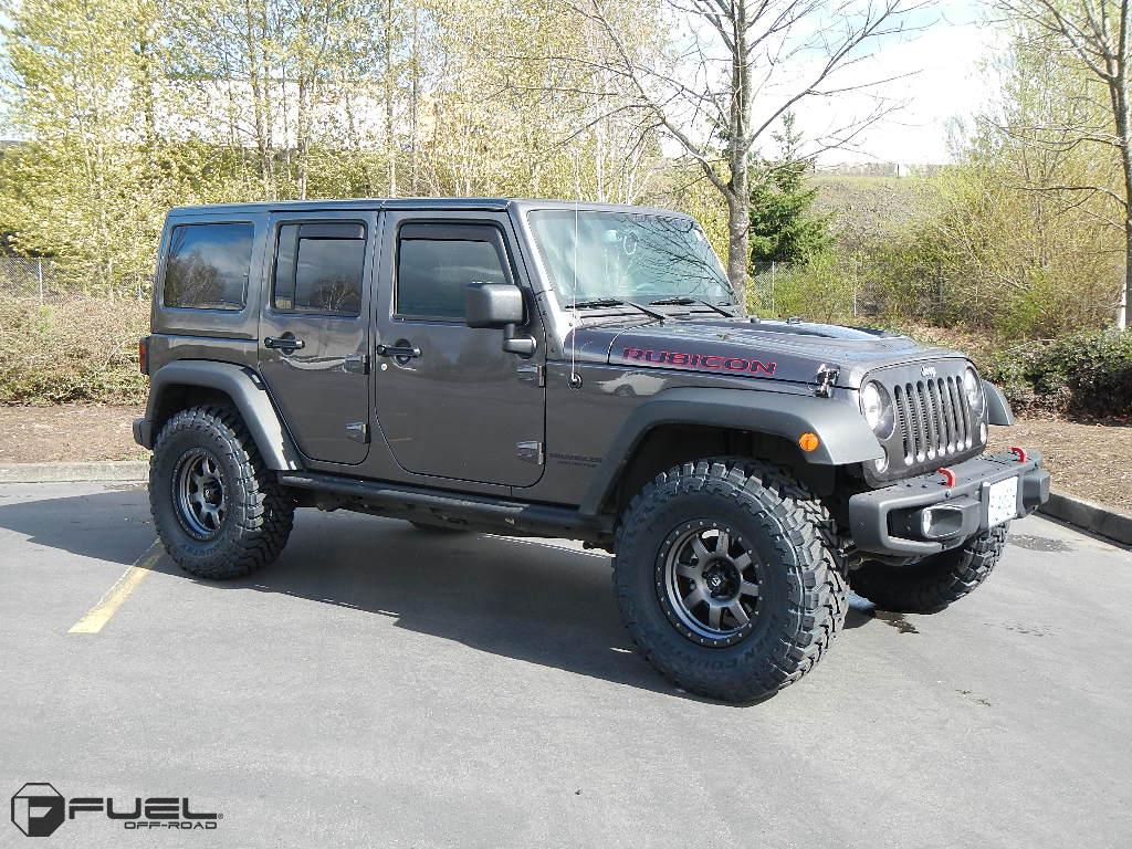 Jeep Rubicon Trophy D552 Gallery Mht Wheels Inc