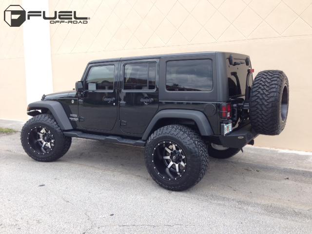 Jeep Wrangler Maverick D537 Gallery Mht Wheels Inc