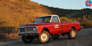 Sierra - U399 6 Lug on Chevrolet K10