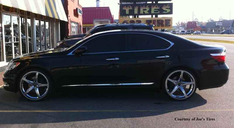 Lexus Ls460 Speed F136 Gallery Mht Wheels Inc