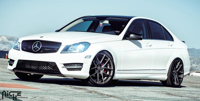 Mercedes-Benz C250 Targa - M129 Gallery - MHT Wheels Inc.