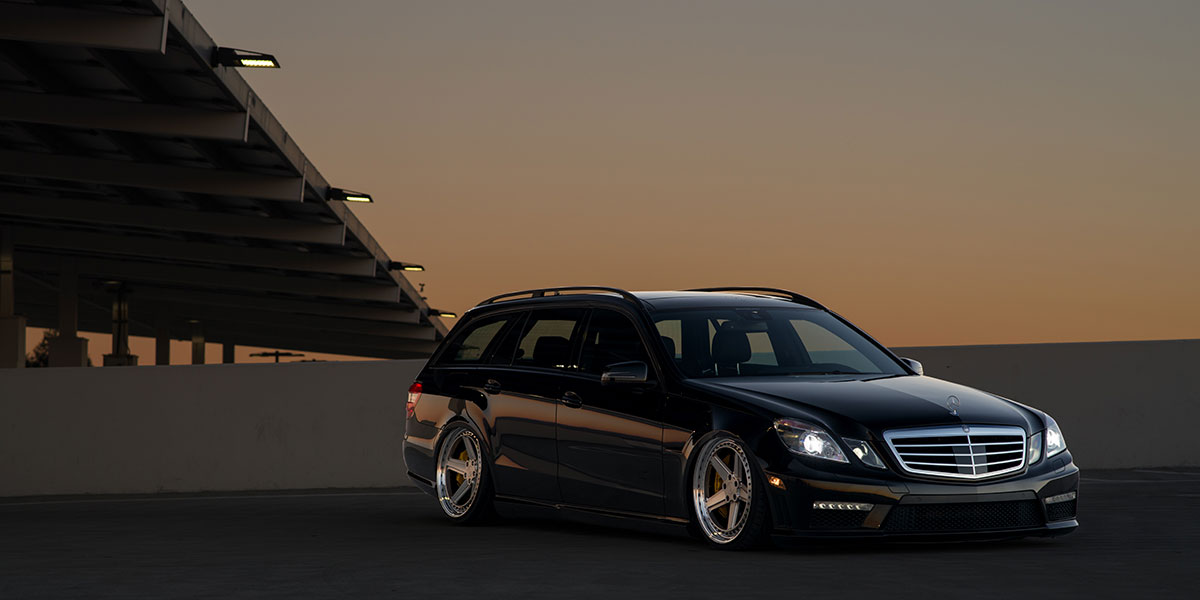 Mercedes Benz E55 4matic Wagon Pnt Gallery Mht Wheels Inc