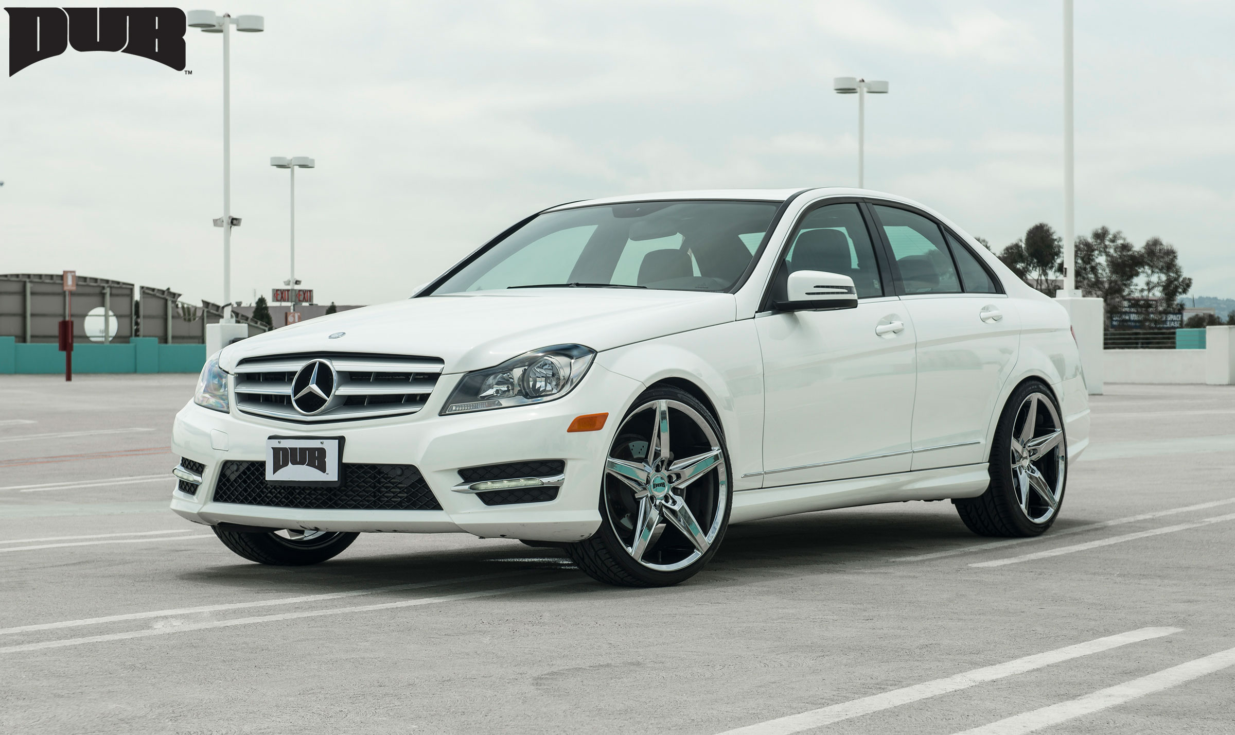 22 Inch Tires >> Mercedes-Benz C250 Lace - S118 Gallery - MHT Wheels Inc.