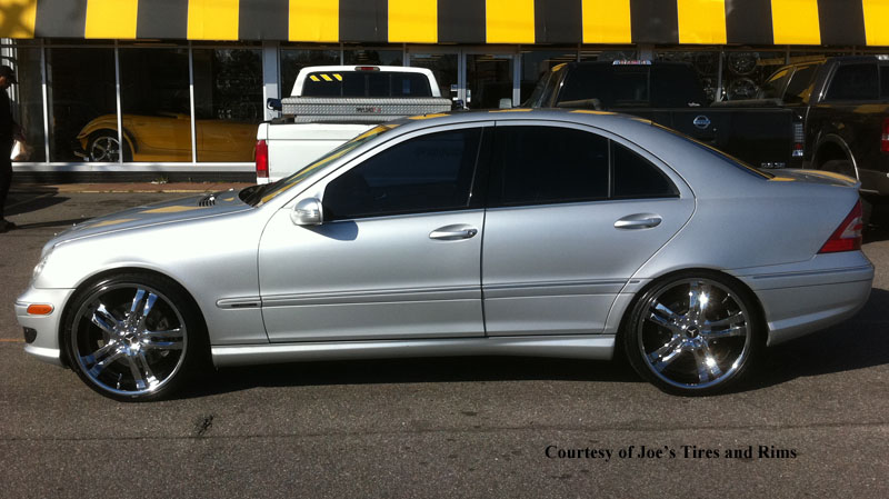 Mercedes benz c230 phase 5 w108 gallery mht wheels inc for Mercedes benz c230 2008