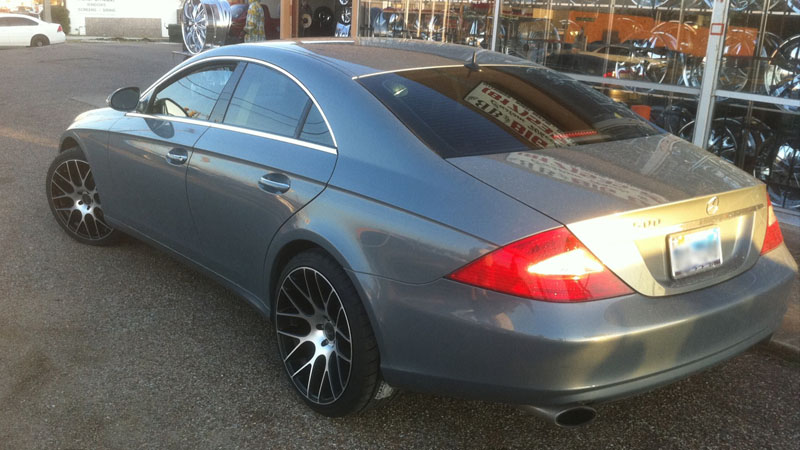Mercedes-Benz CLS500 Circuit - M108 Gallery - MHT Wheels Inc.
