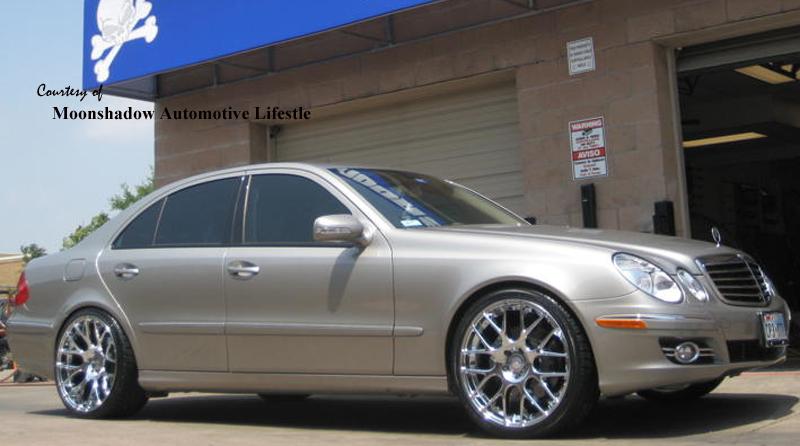 Mercedes Benz E Tires Size