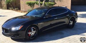 Tango - XA50 on Maserati Quattroporte