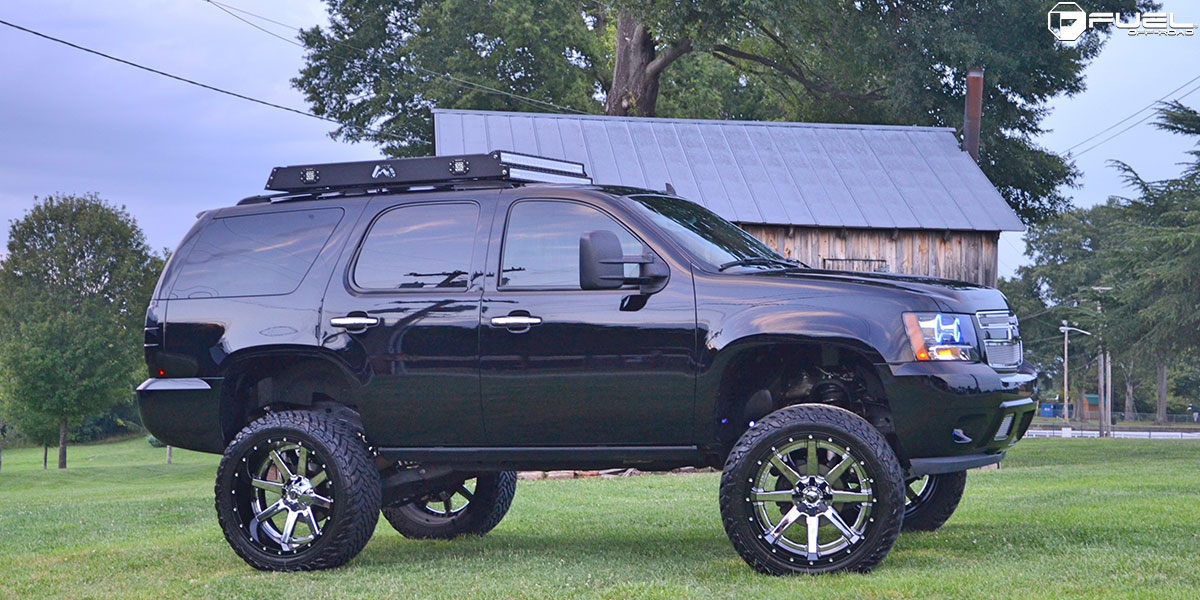 Chevrolet Tahoe Maverick - D260 Gallery - MHT Wheels Inc.