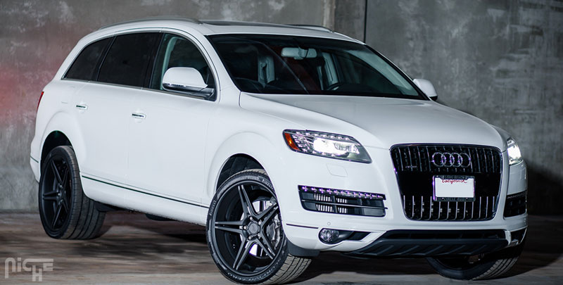 audi q7 sportiva gallery mht wheels inc. Black Bedroom Furniture Sets. Home Design Ideas