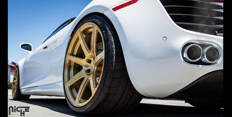 Audi R8 Scuderia 7 Gallery - MHT Wheels Inc.