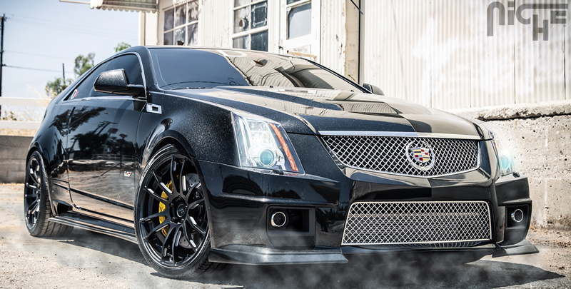 Cadillac CTS-V D3 edition Kickback Gallery - MHT Wheels Inc.