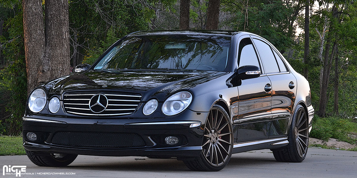 mercedes benz amg e55 form m158 gallery mht wheels inc. Black Bedroom Furniture Sets. Home Design Ideas