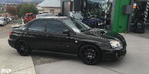 Targa - M130 on Subaru Impreza