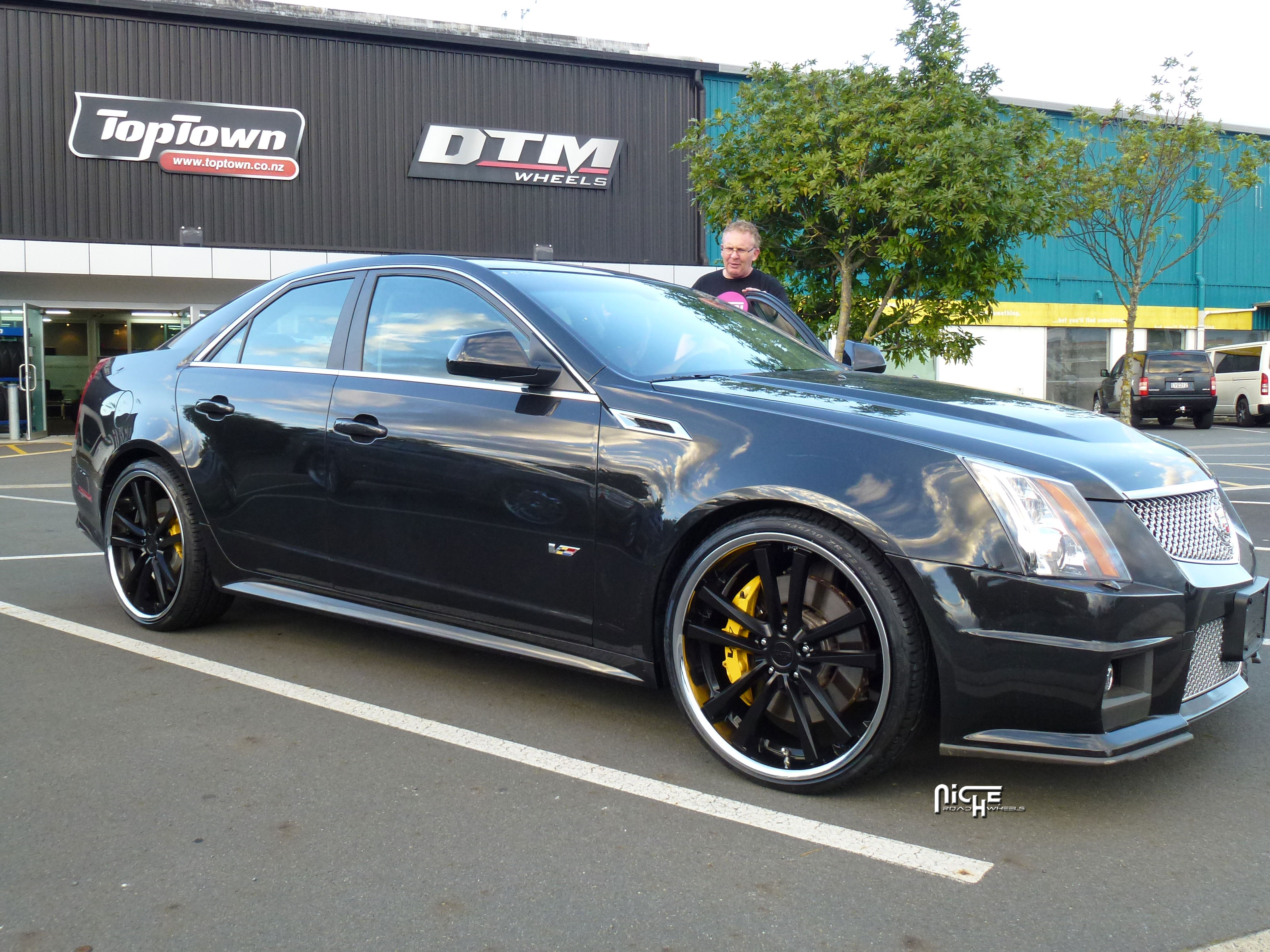 Cadillac Cts V Concourse M885 Gallery Mht Wheels Inc