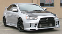 Targa on Mitsubishi Lancer Evolution GSR