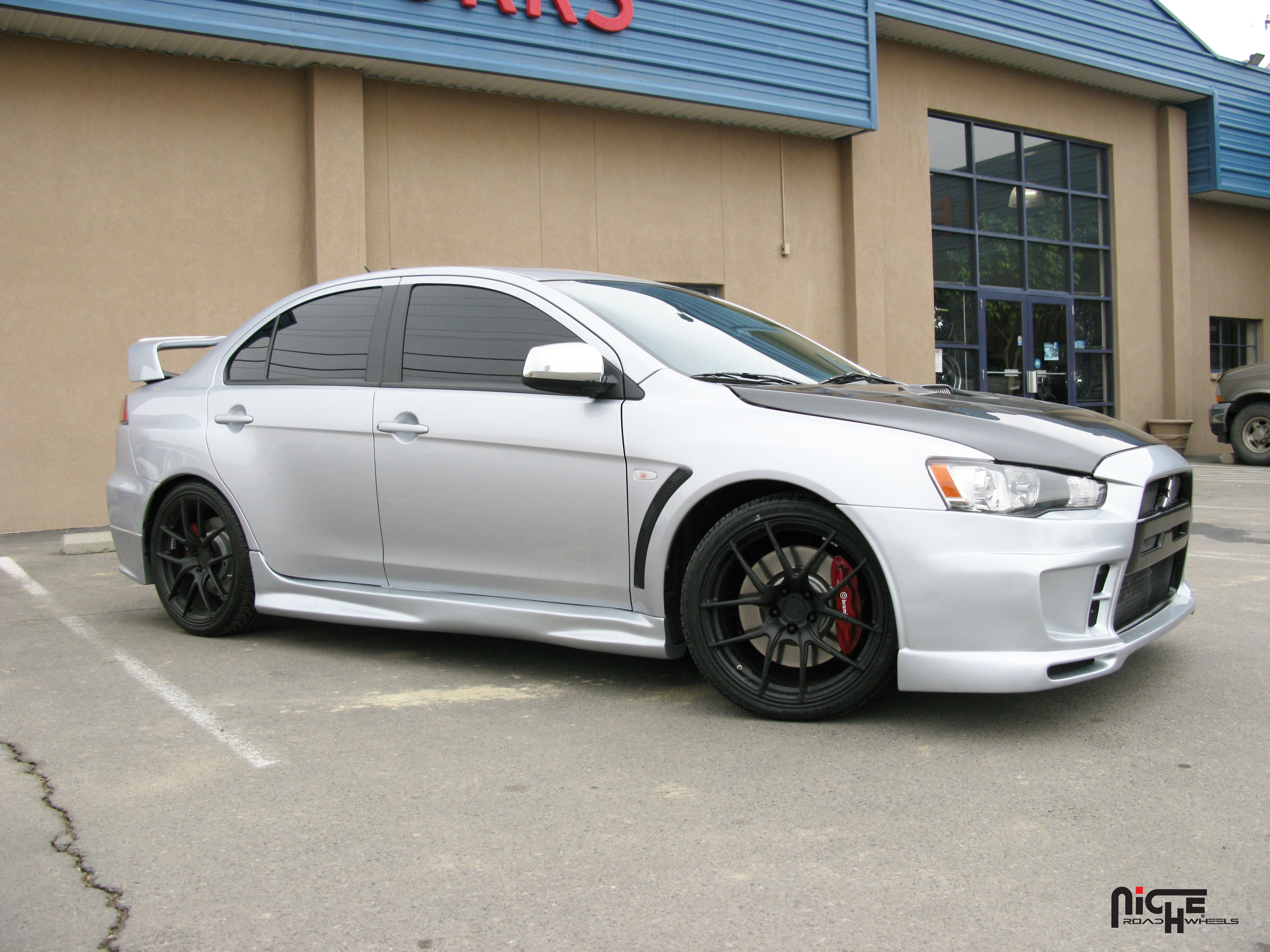 Mitsubishi Lancer Evolution Targa Gallery - MHT Wheels Inc.