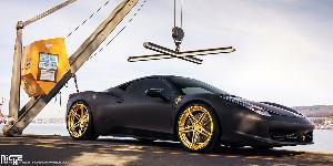 Roma on Ferrari 458 Speciale
