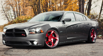 Scope on Dodge Charger