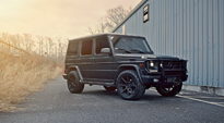 Nyx on Mercedes-Benz G550