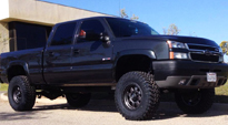 Trophy - D552 on Chevrolet Silverado 2500 HD