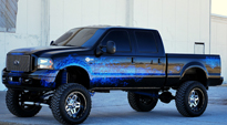 Full Blown - D243 on Ford F-250 Super Duty
