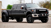 Maverick Dually Rear - D538 on Ford F-350