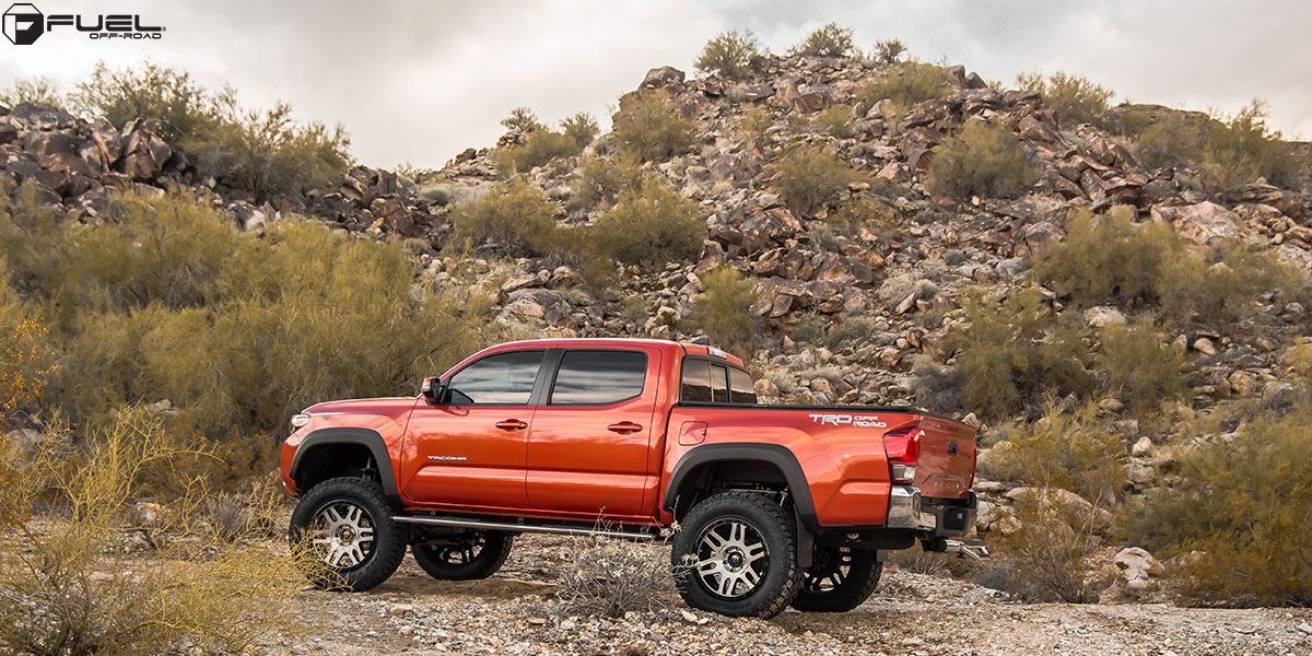 Toyota Tacoma Recoil - D585 Gallery - MHT Wheels Inc.