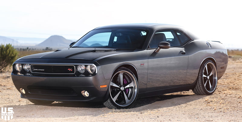 dodge challenger r t bandit u418 gallery mht wheels inc. Black Bedroom Furniture Sets. Home Design Ideas