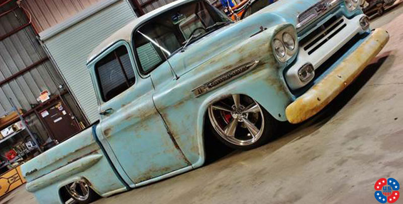 Chevrolet Apache Fleetside Standard U201 Gallery Mht Wheels Inc