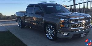 El Rey - U459 on Chevrolet Silverado 1500