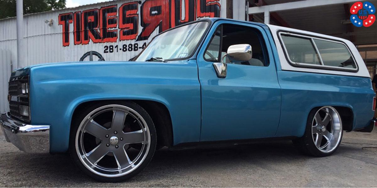 Chevrolet Blazer Hustler U118 Gallery Mht Wheels Inc